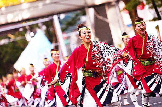 Hình ảnh lễ hội nhật bản - visa Nhật